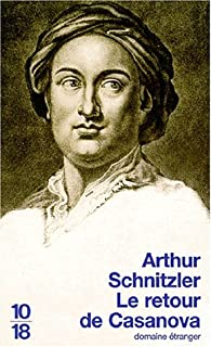 Le retour de Casanova, Schnitzler, Arthur
