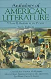 img - for Anthology of American Literature Vol. II: Realism to the Present book / textbook / text book