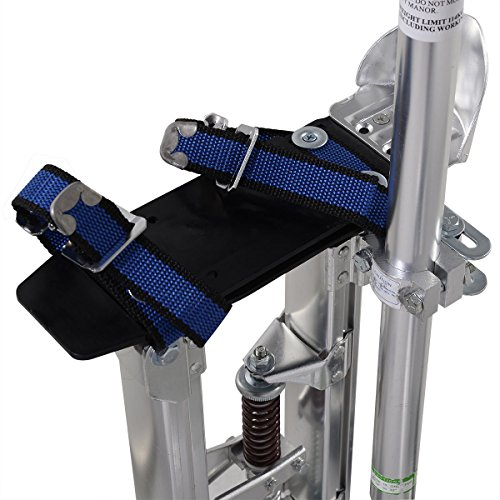 Goplus Drywall Stilts Drywall Lifts Aluminum Tool Stilt for Painting Painter Taping (18''-30'', Sliver) by Goplus (Image #3)