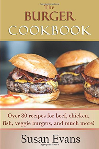 Burger Cookbook recipes chicken burgers product image