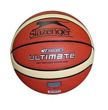 Slazenger V-100 Ultimate - Balón de baloncesto (piel sintética ...