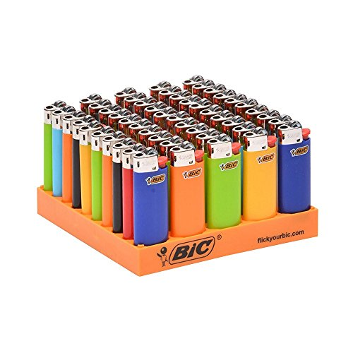 Mini Lighters 50ct Assorted Colors