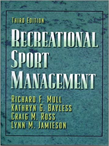 Recreational sport management 9780873228084 medicine health recreational sport management 3rd edition fandeluxe Choice Image