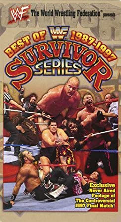 Amazoncom Wwf Best Of Survivor Series 1987 1997 Vhs Steve