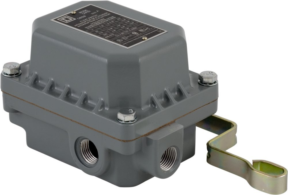 Square D 9036DR31 Commercial Open Tank Float Switch , NEMA 4/7/9, Contacts Close on Rise