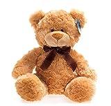 stuffed brown bear - WILDREAM Teddy Bear Stuffed Animal,11 Inches Plush Bear