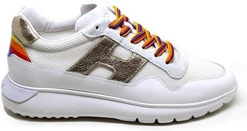 Scarpe sneakers da donna sportive multicolor running passeggio zeppa alte comode