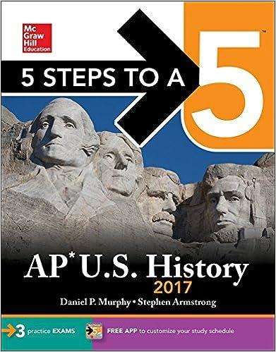 5 Steps to a 5 AP U.S. History 2017 by Daniel P. Murphy (2016-07-29)
