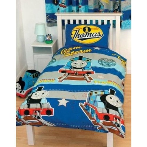 Kids/Childrens Thomas the Tank Engine Bedding Duvet/Quilt Cover ... : thomas single bed quilt cover - Adamdwight.com