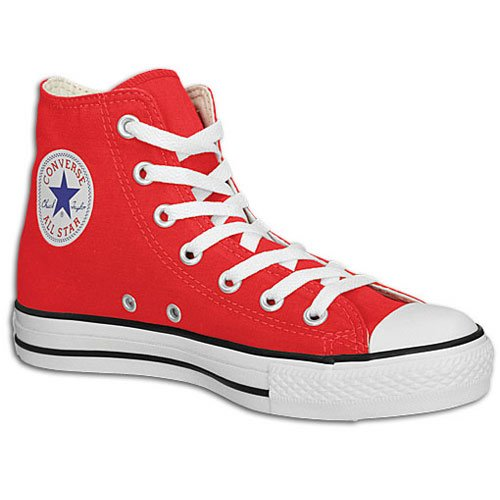 Converse Mens All Star Hi Anniversary Special Red