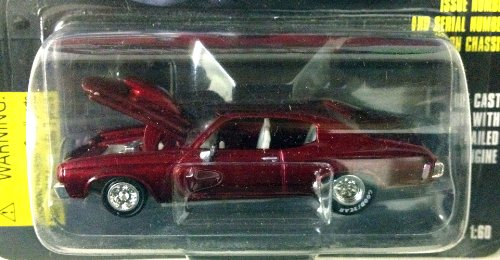 Racing Champion (Racing Champions ~ HOT ROD MAGAZINE ~ Issue #19 '70 CHEVELLE SS / 1:60 Scale Die Cast Car / 1997)