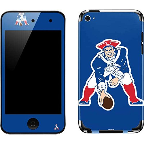 NFL New England Patriots iPod Touch (4th Gen) Skin - New England Patriots Retro Logo Vinyl Decal Skin For Your iPod Touch (4th Gen)