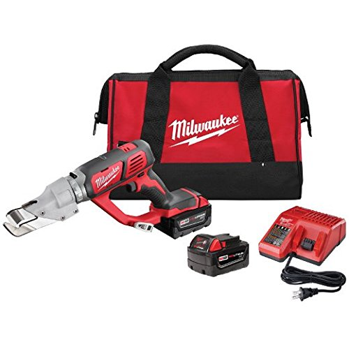 Milwaukee 2637-22 M18 Cordless 18 Gauge Single Cut Shear - Kit by Milwaukee