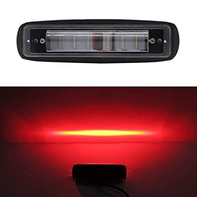 LED Forklift Light Side Line Marker Light Warning Spot Light 30W DC 12-80V Safety Light (Red 1 Pack): Automotive