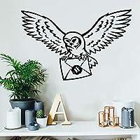Magische film Harry Uil Eagle Potter Messenger Vogel Envelop Muursticker Vinyl Art Decal Jongen Kids Kwekerij Slaapkamer…