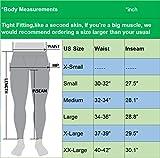Neleus Men's Dry Fit Compression Pants Workout