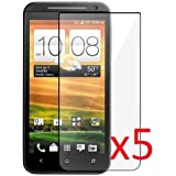 eTECH Collection 5 Pack of Crystal Clear Screen Protectors for HTC EVO 4G LTE -- Free Shipping from USA
