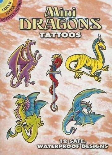 Mini Dragons Tattoos (Dover Tattoos)