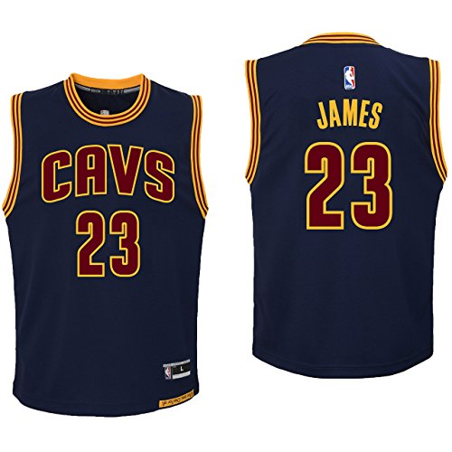 James Team Color (NBA Youth 8-20 All Star Team Color Players Replica Jersey (Large 14/16, LeBron James Alternate))