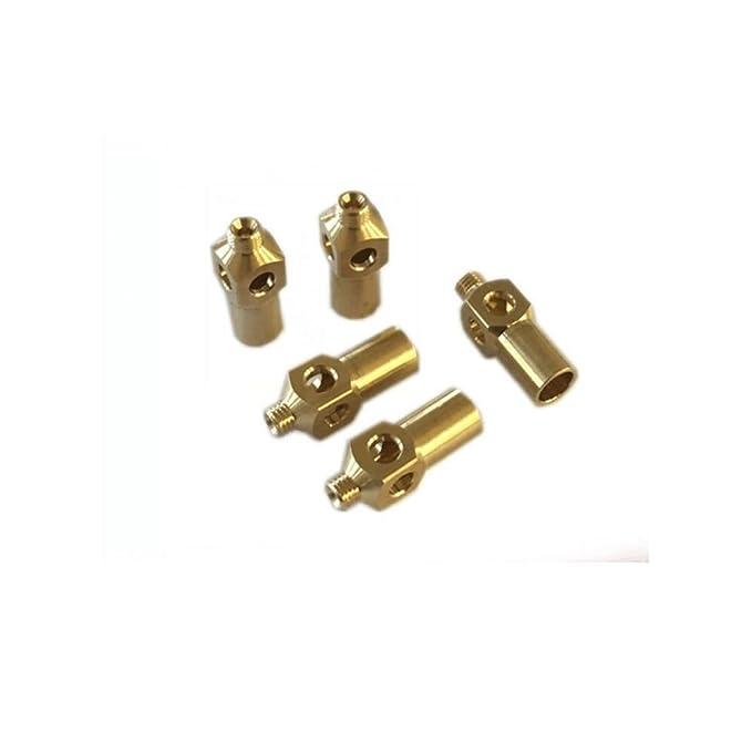 Amazon.com : EARTH STAR 5 PCS Brass Cast Iron Jet Burner LPG / NG Gas Nozzle Cooking Stove Nozzles : Garden & Outdoor