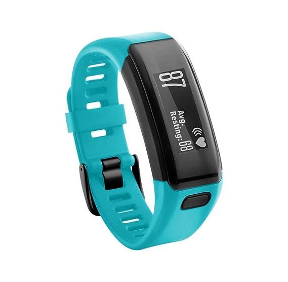 Singlelucia - Correa de silicona suave de repuesto para reloj inteligente Garmin Vivosmart HR, color