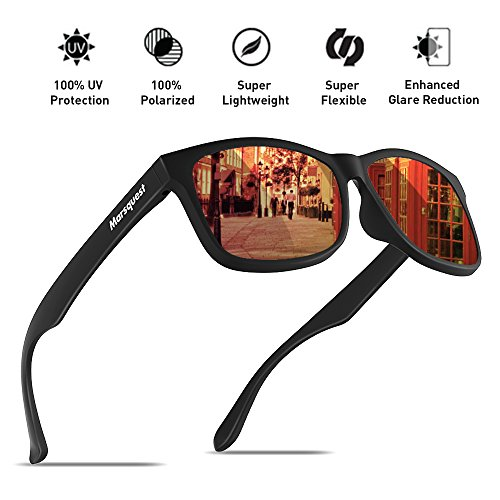 Mens Polarized Sunglasses - Momentum Memory Material Durable & - Sunglasses 3rd Eye