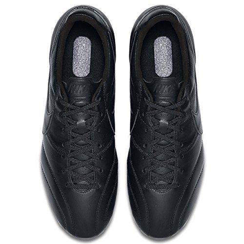 Nike Premier Fg 599427-001 Svarta Känguru / Get Läder Mens Fotbollsskor