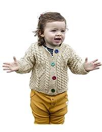 Baby Wool Irish Jacket Sweater
