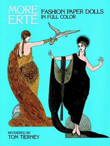 More Erté Fashion Paper Dolls (More Erte