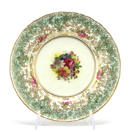 C51 by Royal Worcester, China Salad Plate, Green ()