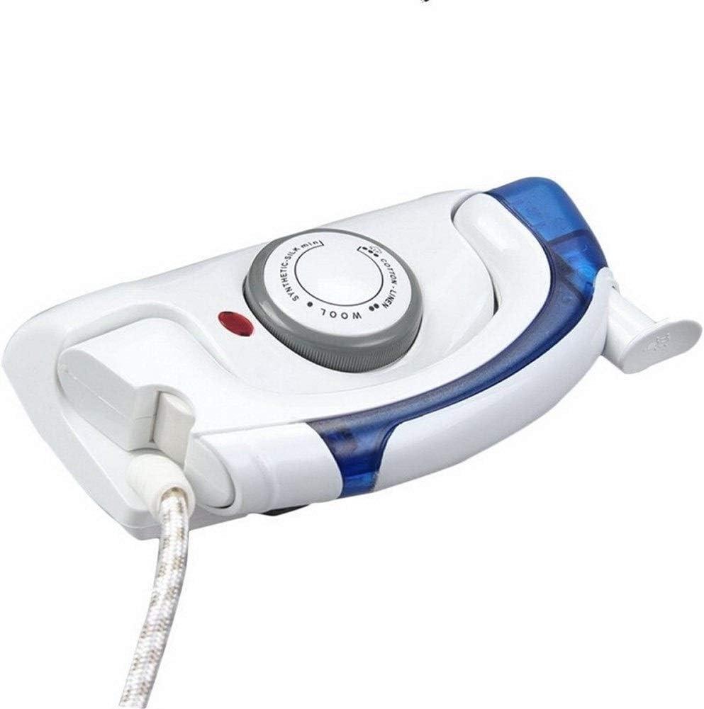 Aomednx Trajes De Vapores Plegable De Hierro For La Ropa Handheld Arropa La Steamer 3Gears Vertival De Planchado Al Vapor For Viajar Inicio (Color : White)