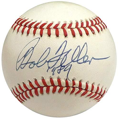 Bob Feller Signed Ball - Official AL Beckett BAS #H75302 - Beckett Authentication - Autographed Baseballs
