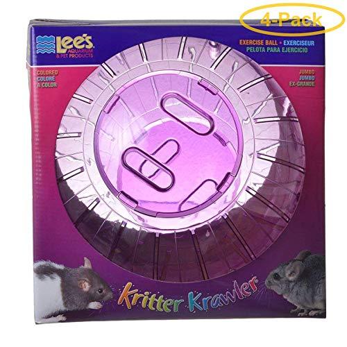 Lees Kritter Krawler - Assorted Colors Jumbo - 10'' Diameter - Pack of 4