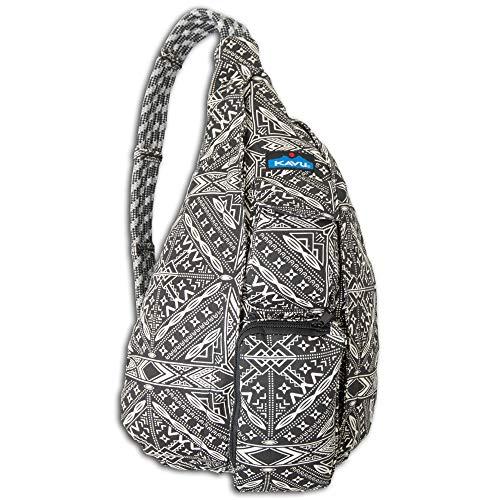 Cotton 100% Explorer (KAVU Rope Bag - Compact Lightweight Crossbody Sling, Lucky Bandana, One Size)