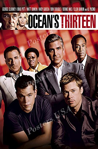 Posters USA - Ocean's Thirteen 13 Movie Poster GLOSSY FINISH - MOV320 (24