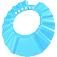 SimpleLife Children Baby Kids Waterproof Bathing Cap, Safe Shower Bath Wash Washing Hair Shampoo Shower Protect Hat Soft…