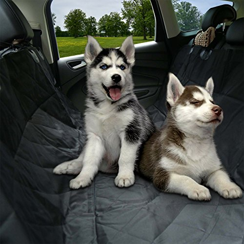 Sailnovo Dog Car Seat Cover Water Proof Non Slip Hammock Pet Car Seat Protector Dog Cover Back Seat Cars Trucks and SUVs Review