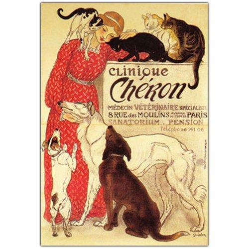 trademark-fine-art-clinique-cheron-by-theophile-a-steinlen-canvas-wall-art-26x32-inch