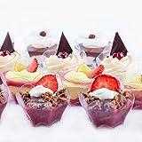 Dessert Cups, Tasting Spoons, and Forks by PetitsDesserts –BONUS Easy Dessert Recipe e-Book Included