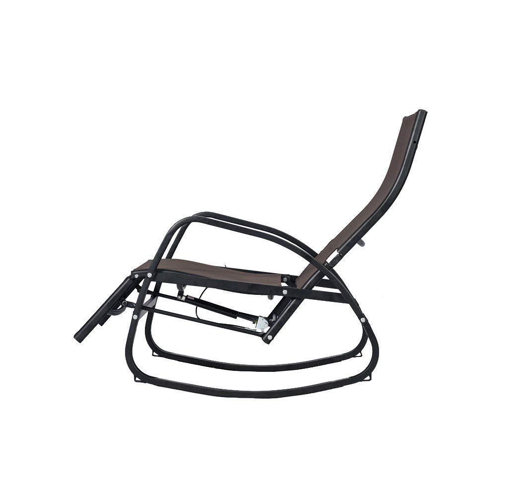 Amazon.com: Adumly Home - Silla de patio reclinable para ...