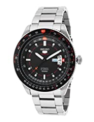 Seiko Men's 5 Automatic SRP613K Silver Stainless-Steel Automatic Watch