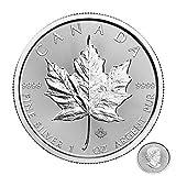 2018 1 oz .9999 Silver Maple Leaf