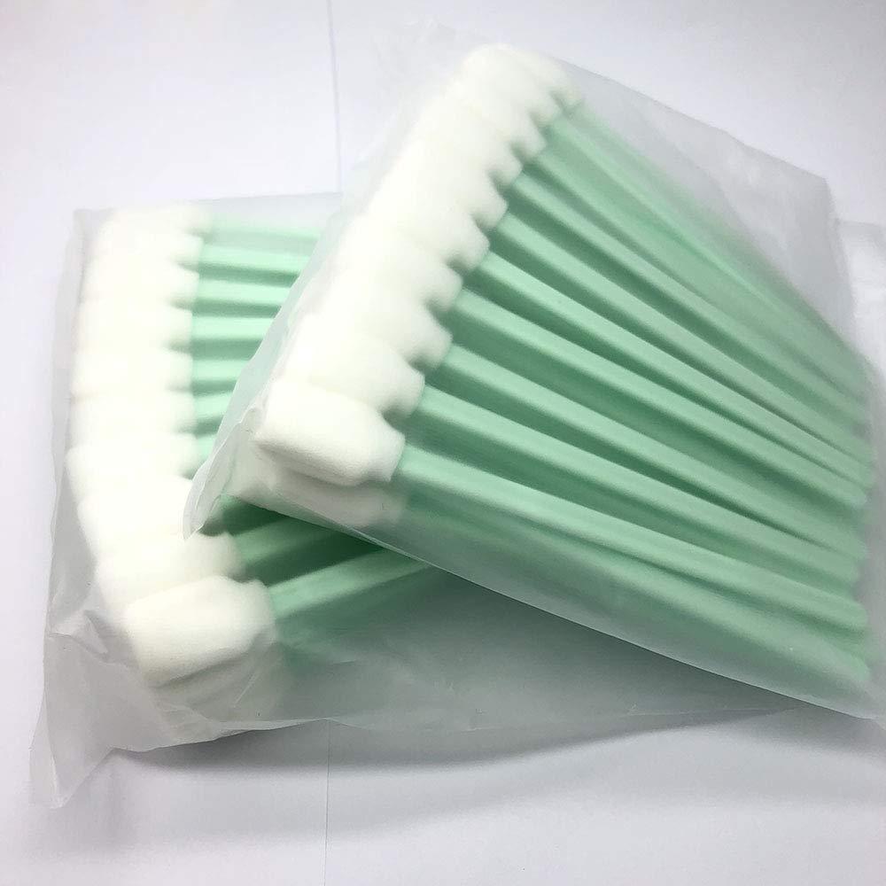 Syoon - 100 Piezas de bastoncillos de Limpieza para impresoras ...