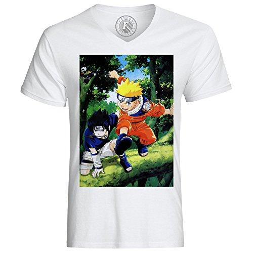 T-shirt Naruto Sasuke Begleiter Manga Waffen