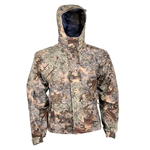 - King's Camo Kid's Climatex Rain Jacket, Desert Shadow, Large