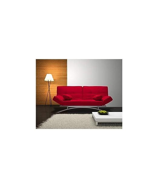 Befara Sofa Cama Clic CLAC CERDEÑA Rojo: Amazon.es: Hogar