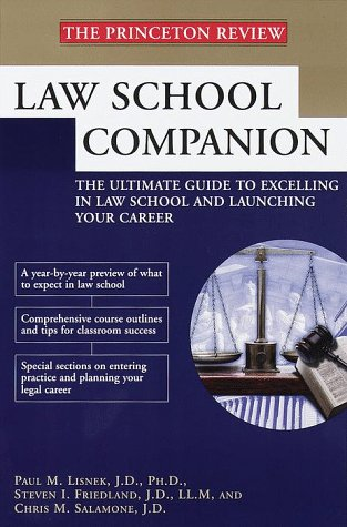 Law School Companion (Princeton Review)