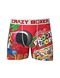 Kalan LP Men's Crazy Boxers Froot Loops Red/White Boxer Briefs