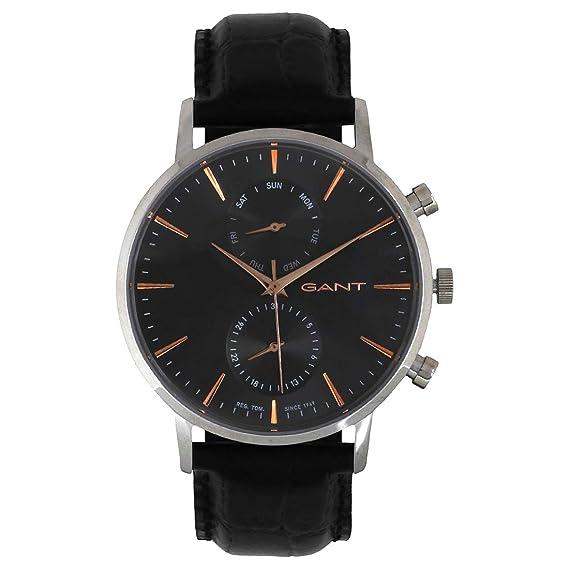 san francisco checka ut köper nu Gant Men's Analogue Quartz Watch with Leather Strap W11202 ...