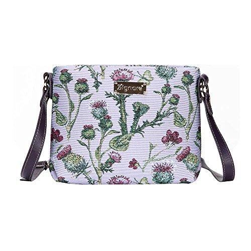 Borsetta donna Signare alla moda in tessuto stile arazzo a spalla borsa messenger a tracolla floreale Cardo